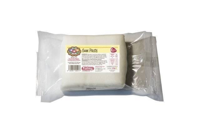 Gum pasta 250g - bílá Kelmy