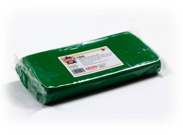Potahovací hmota 1 Kg - zelená Kelmy