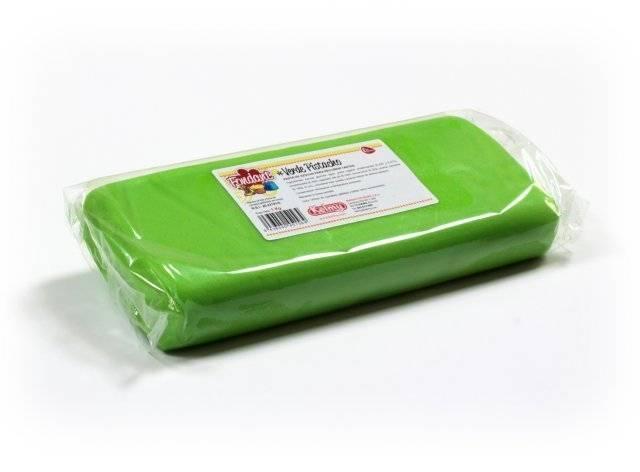 Potahovací hmota 1 Kg - pistáciová zelená Kelmy