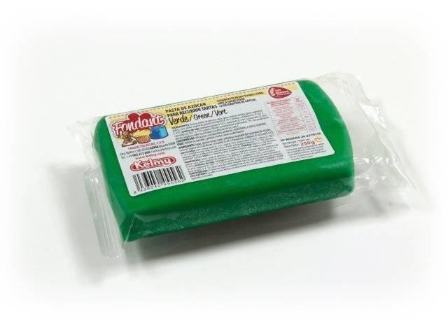 Potahovací hmota 250 g - zelená Kelmy