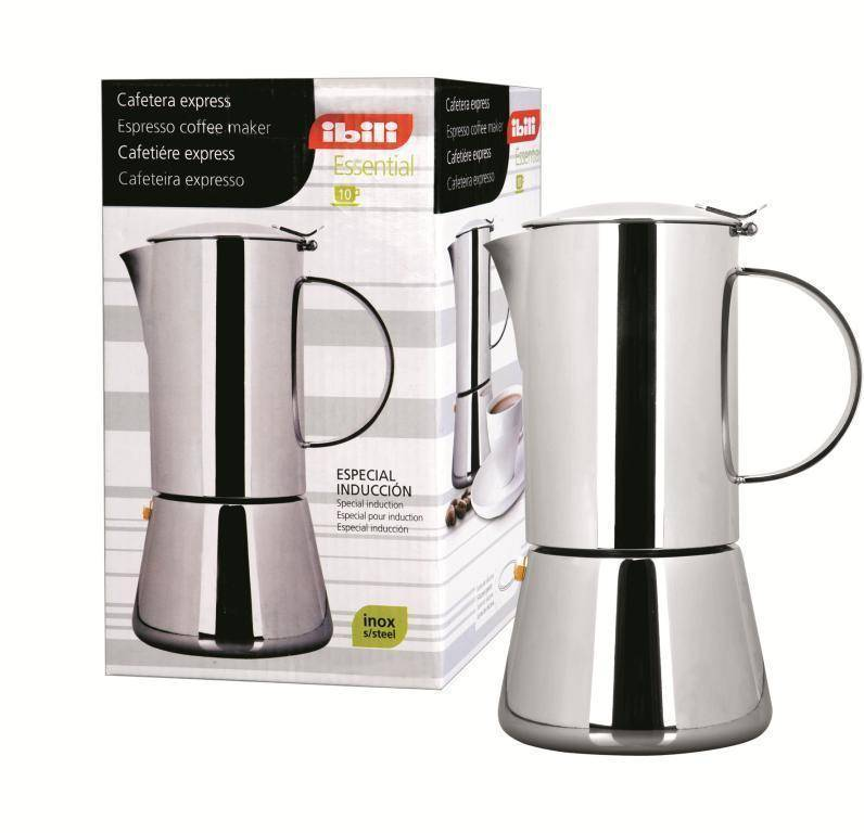 IBILI nerezový kávovar na espresso Essential - 2 šálky