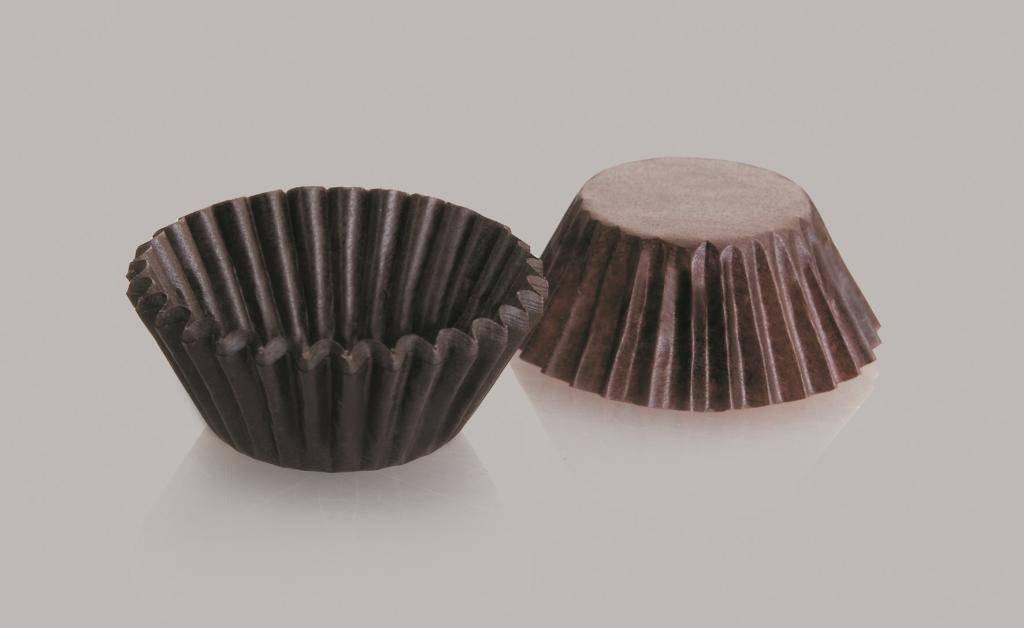 Cukrářský košíček kulatý set 4x2cm – 100ks Ibili