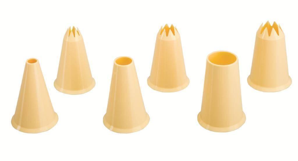 Plastová zdobítka set – 6ks Ibili