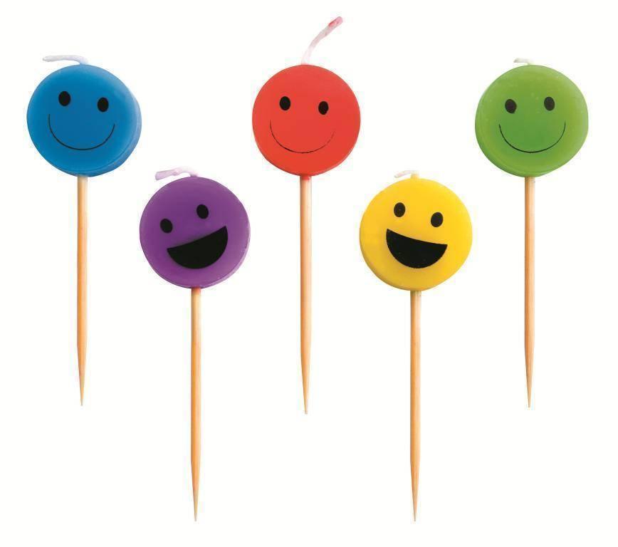 """Svíčky """"úsměv"""" set – 5ks Ibili"""