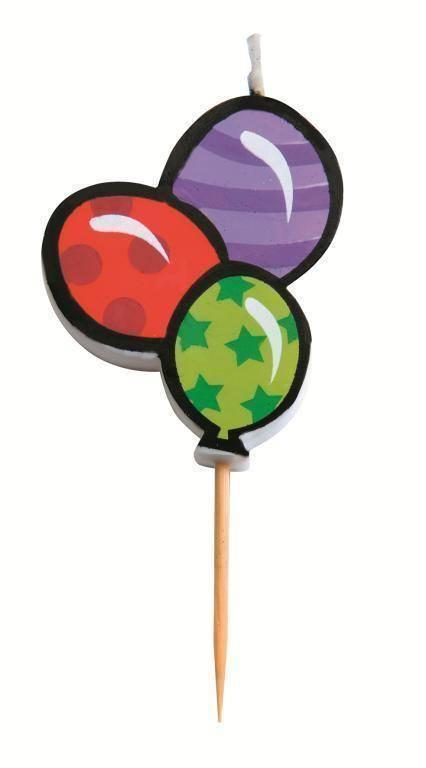 """Svíčka """"narozeninové balónky"""" Ibili"""