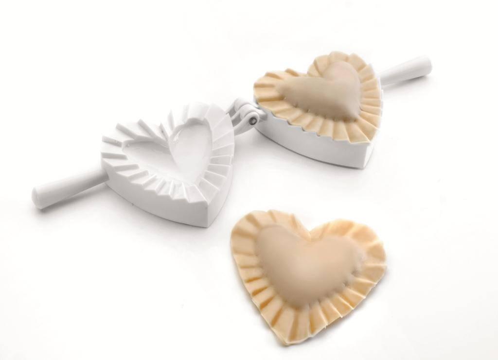 Forma na ravioli ve tvaru srdce 10cm Ibili