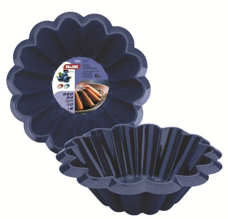 Silikonová forma na pudink 22cm Ibili