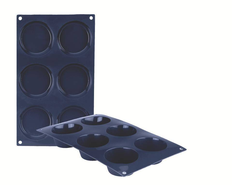 Silikonová forma na muffiny set – 6ks Ibili