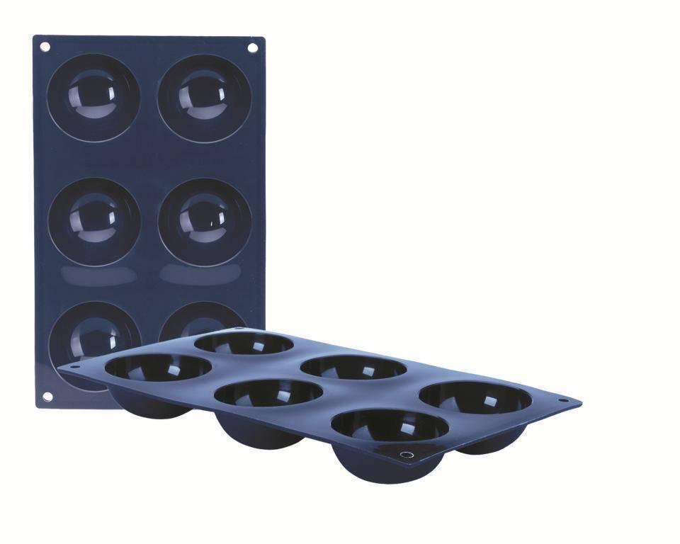 Silikonová forma na pečení kruh Ibili