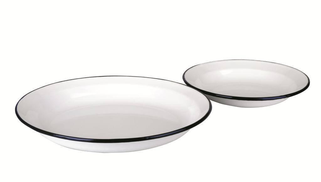 Hluboký talíř smaltovaný 28 cm Ibili