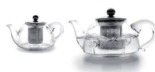 Skleněná čajová konvička s filtrem 800ml Ibili
