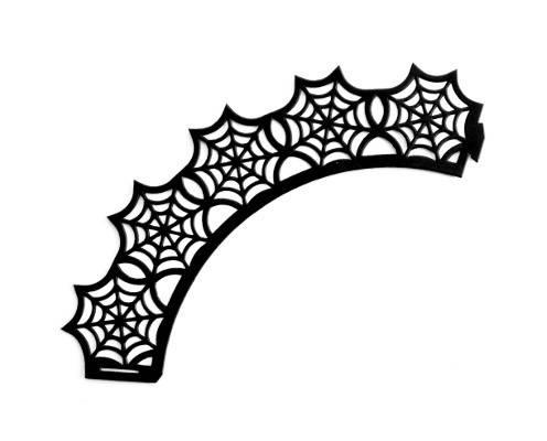 Dekorace na košíček - motiv Halloween Ibili
