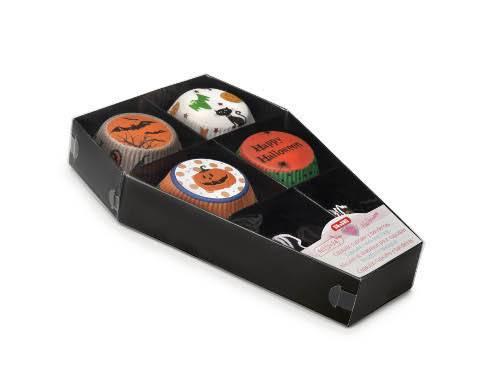 Cukrářské košíčky - set Halloween Ibili