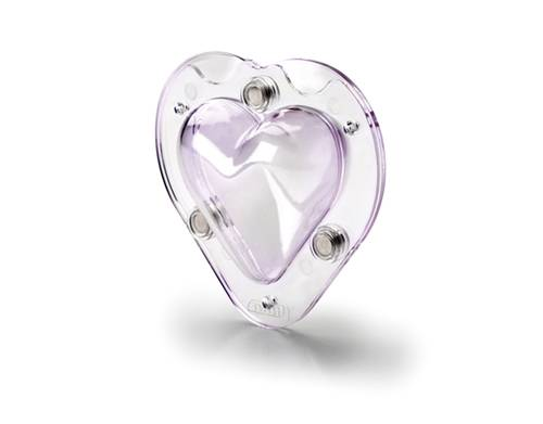 3D forma srdce 9cm Ibili