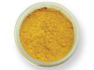 Pudrová barva matná – žlutá EKO balení PME