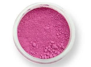Pudrová barva matná – malinově červená EKO balení PME