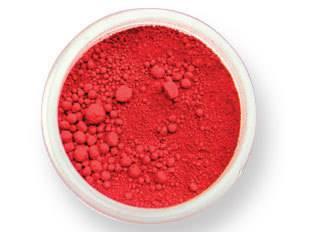 Pudrová barva matná – sametově červená EKO balení PME