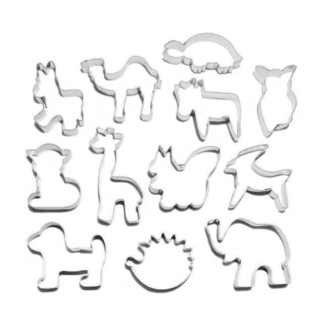 Sada-zvířátek 12ks Smolík