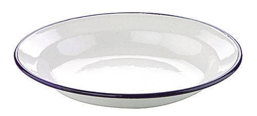 Hluboký talíř smaltovaný 24 cm Ibili