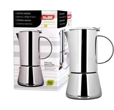 IBILI nerezový kávovar na espresso Essential - 4 šálky