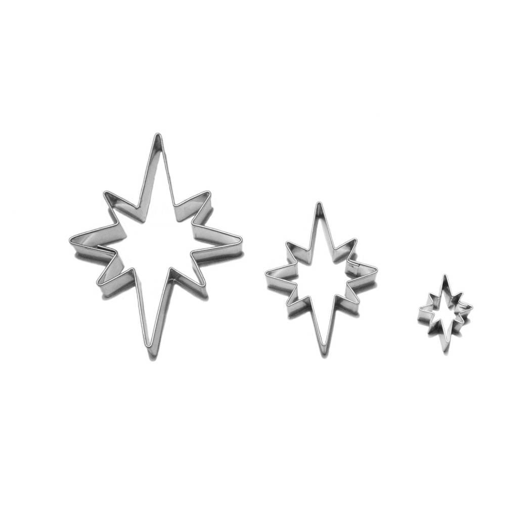 Vykrajovátka hvězdy 8 cípů Smolík