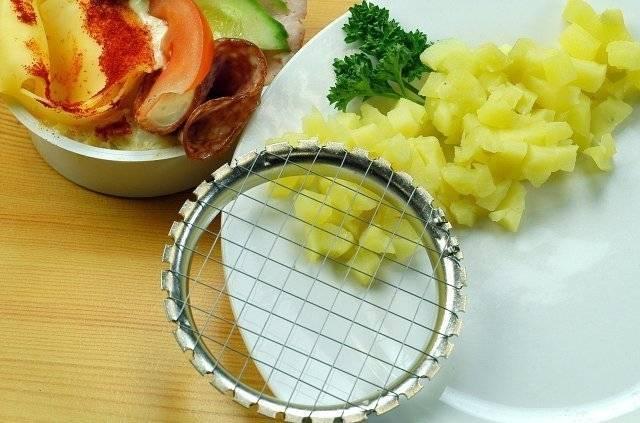 Kráječ vařených brambor Reproplast