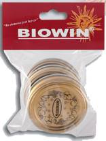 Víčka 70 - 3ks zlaté BIOWIN