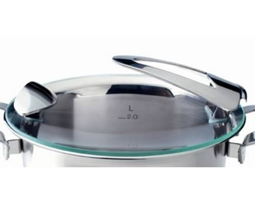Poklice pro varné nádobí Solea®- O 24 cm, sklo- Fissler