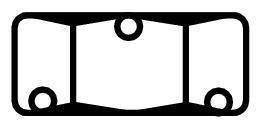 Matice pro uchycení ventilu tlakových hrnců Vitavit®Royal Fissler