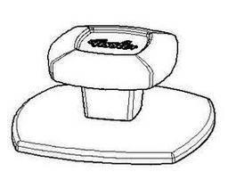 Držadlo na poklici pro nádobí Comfort - Fissler