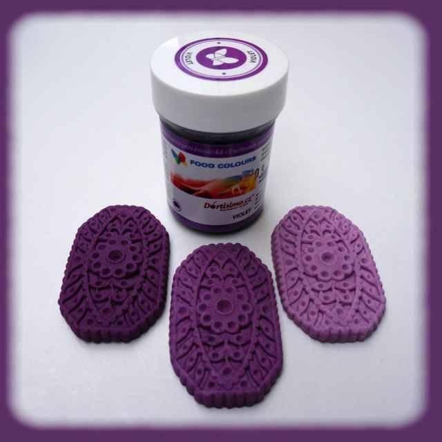 Gelová barva (Violet) fialová 35 g Food Colours