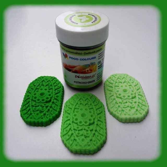 Gelová barva (Pistachio Green) pistáciově zelená 35 g Food Colours
