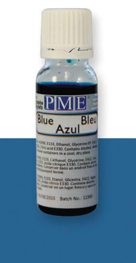 PME airbrush barva základní – modrá