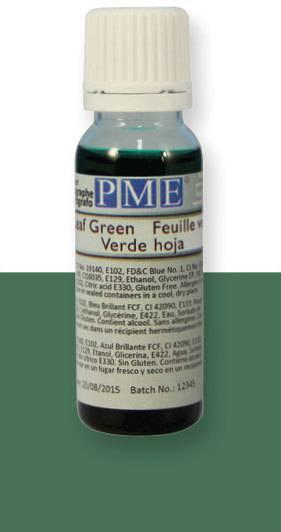 PME airbrush barva základní – listově zelená