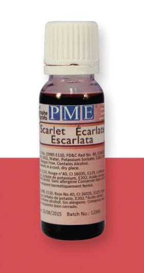 PME airbrush barva základní – šarlatová