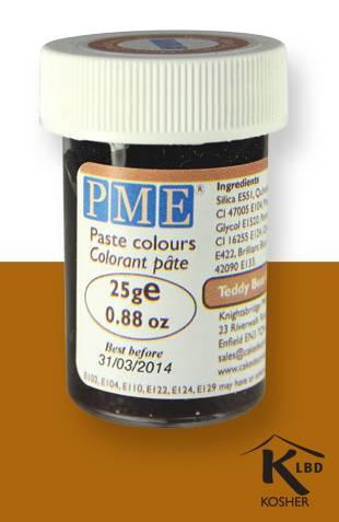PME gelová barva - hnědá
