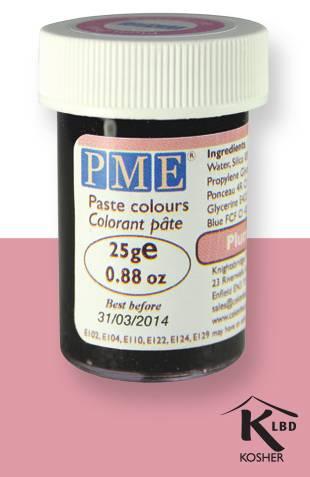 PME gelová barva - švestkově růžová