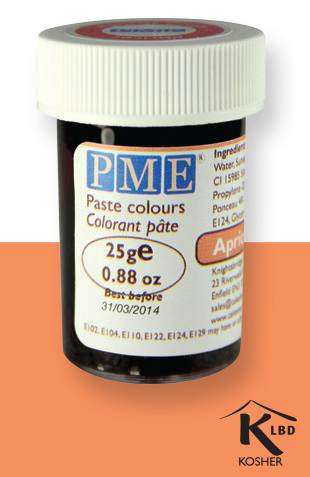 PME gelová barva - meruňková