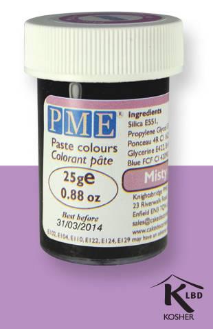 PME gelová barva - světle fialová