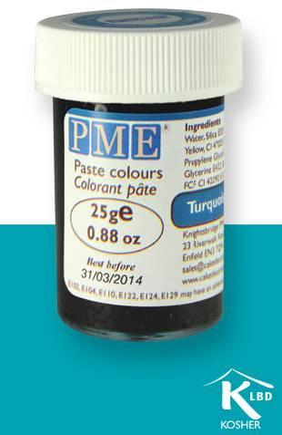 PME gelová barva - tyrkysově modrá