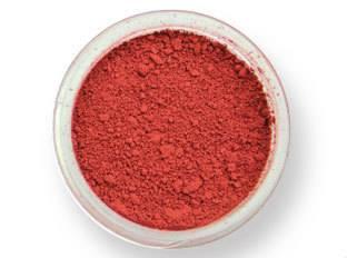 Pudrová barva matná – cihlově červená PME