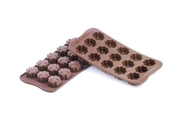 Silikonová forma na čokoládu – květiny Silikomart
