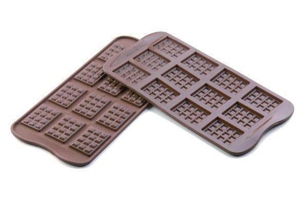 Silikonová forma na čokoládu – tabulky Silikomart