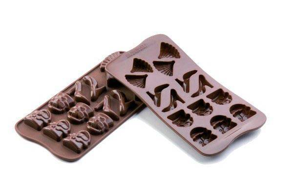 Silikonová forma na čokoládu – modní přehlídka Silikomart