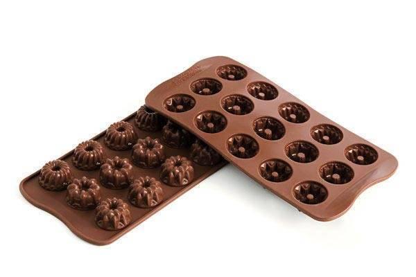 Silikonová forma na čokoládu – bábovky Silikomart