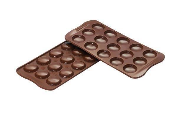Silikonová forma na čokoládu – makronky Silikomart