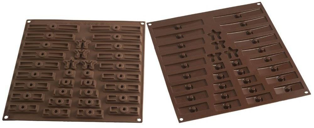Silikonová forma na čokoládu – 3D vánoční strom Silikomart