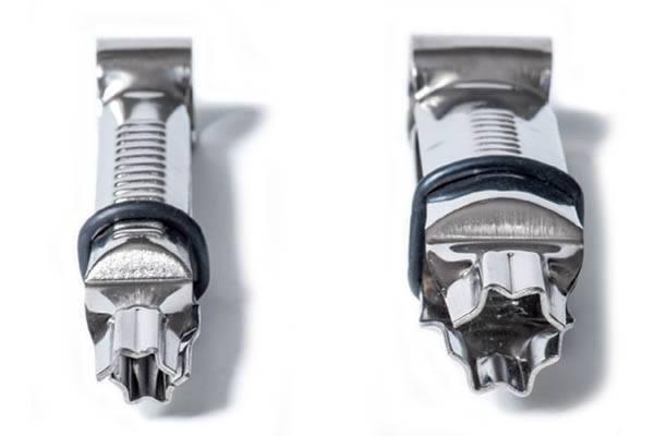 zdobící kleště nerezové 12-17mm Silikomart