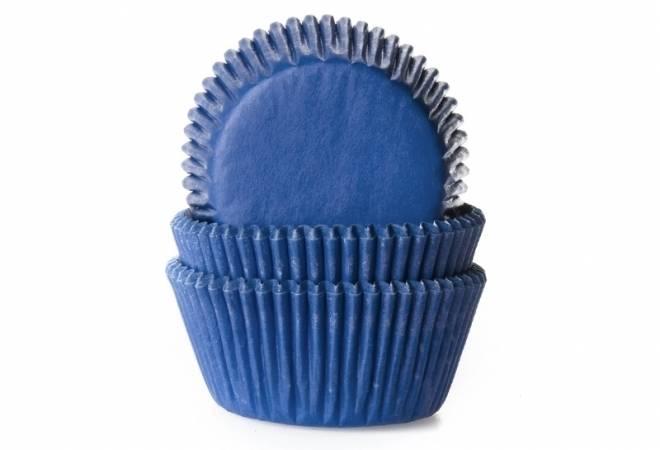 Papírový košíček na muffiny modrý 50ks House of Marie