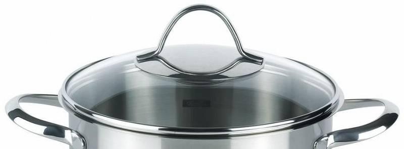 Poklice pro varné nádobí Paris- O 16 cm, sklo- - Fissler